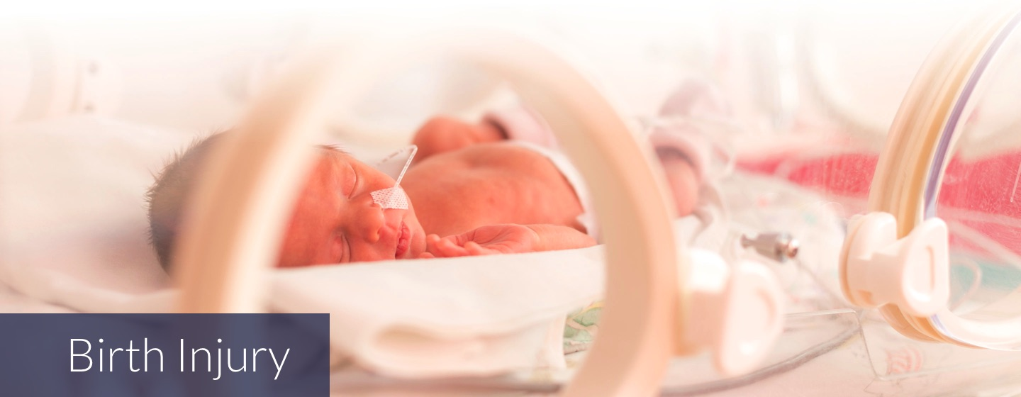 Birth Injury Legal Representation - neonatal baby in incubator